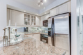 Granite Counters & Double Sink